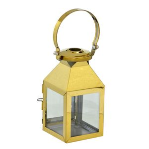Lanterna Decorativa Mini Gold 15cm Espressione
